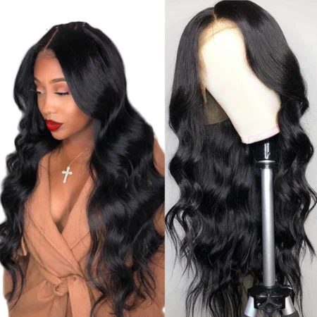 Peruvian Body Wave 13x5 Lace Front Wigs Pre Plucked Hairline With Baby Hair (5)