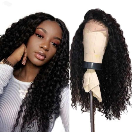 Peruvian Lace Front Human Deep Wave Hair Wigs with Pre Plucked Hairline (3)