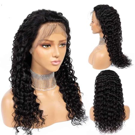 Peruvian Lace Front Human Deep Wave Hair Wigs with Pre Plucked Hairline (6)