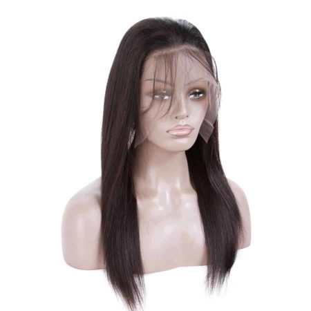 Peruvian Straight Lace Front Human Hair Wigs For Black Women Natural Hairline With Baby Hair (2)