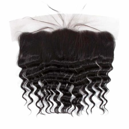 13x4 Lace Frontal Closure Malaysian Human Hair Loose Deep Wave (4)