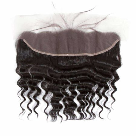 13x4 Lace Frontal Closure Malaysian Human Hair Loose Deep Wave (5)