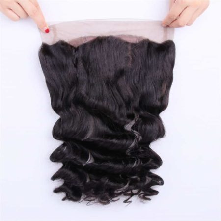 360 Frontal And Bundle Deal Peruvian Remy Human Hair Loose Wave (5)