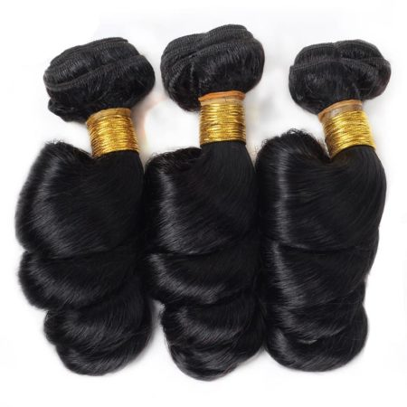 360 Lace Frontal And Bundles Malaysian Loose Wave Human Hair (6)