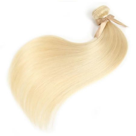 613 Honey Blonde Remy Brazilian Straight Human Hair Weave Bundles (5)