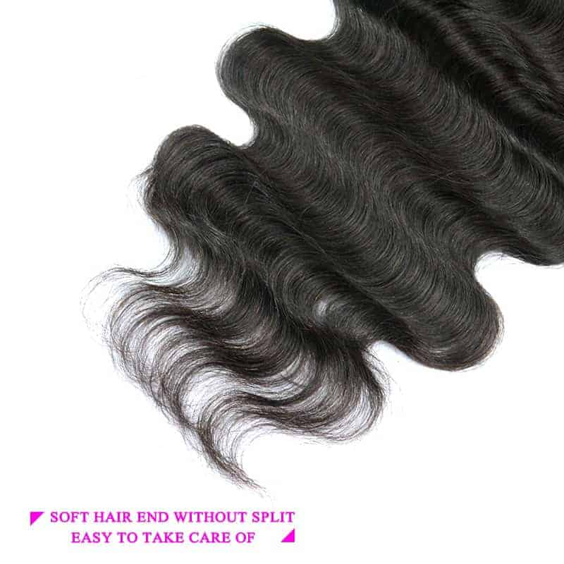 6x6 Lace Closure Brazilian Body Wave Virgin Hair Free Part (4)