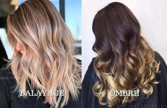 Balayage vs Sombre vs Ombre , What Are The Differences