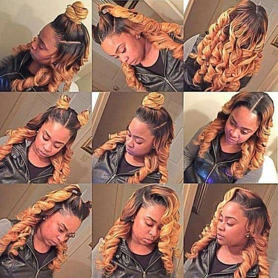Blonde hair vixen sew in