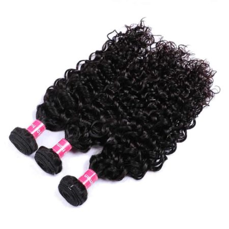 Brazilian Beach Curl Human Hair Weave Bundles Extensions (5)