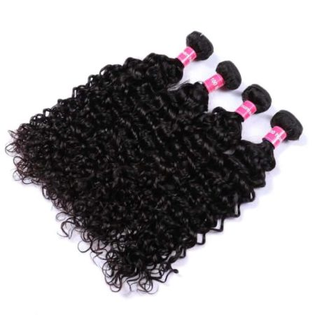 Brazilian Beach Curl Human Hair Weave Bundles Extensions (6)
