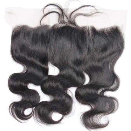 Brazilian Body Wave 4 Bundles Human Hair With Lace Frontal Closure (3)