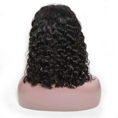 Brazilian Deep Curly Short Bob Lace Front Wig 150% Density For Black Women (4)