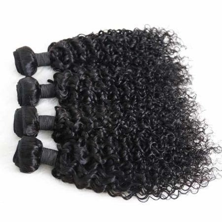 Brazilian Deep Curly Virgin 100% Human Hair Weave 3 Bundles (5)