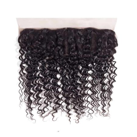 Brazilian Deep Wave Lace Frontal Closure 13x4 Ear To Ear Swiss Lace Human Hair (1)