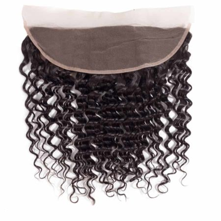 Brazilian Deep Wave Lace Frontal Closure 13x4 Ear To Ear Swiss Lace Human Hair (6)