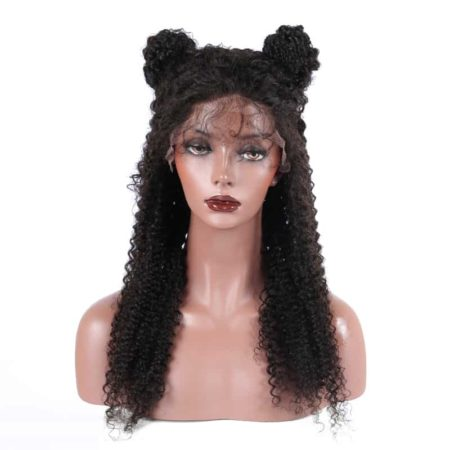 Brazilian Full Lace Wigs Human Hair Kinky Curly For Women 130% Density (2)