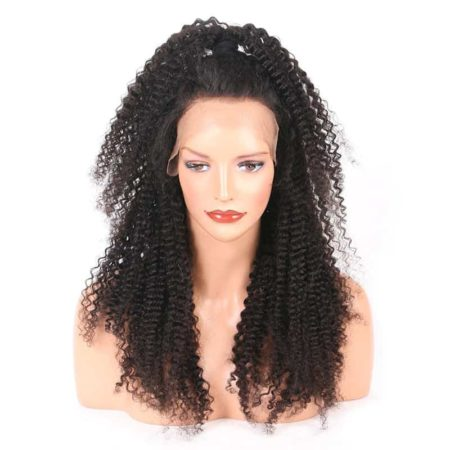 Brazilian Kinky Curly 13x4 Lace Front Human Hair Wigs With Baby Hair (6)