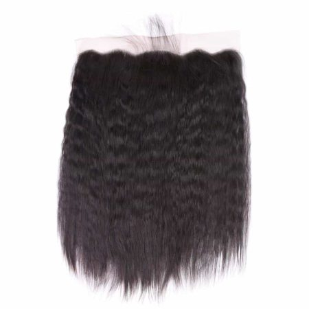 Brazilian Kinky Straight 13x4 Ear To Ear Lace Frontal Hair Natural Color Free Part (6)