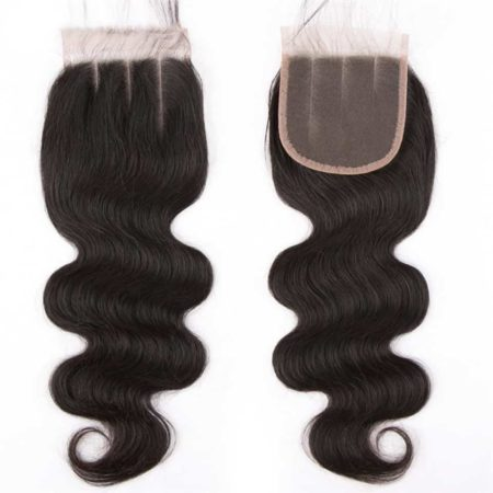 Brazilian Lace Closure Body Wave 4x4 Virgin 100% Unprocessed Human Hair (4)