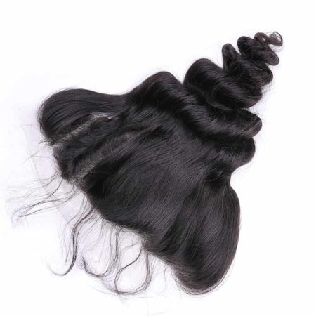 Brazilian Loose Wave 13X4 Lace Frontal Closure Human Hair Free Part (4)
