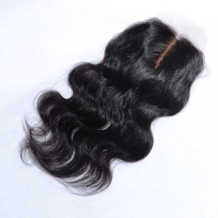 Brazilian Silk Base Closures Body Wave 4x4 Virgin Hair Middle Part (2)