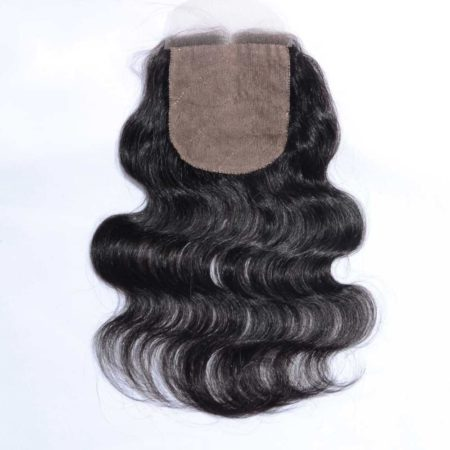 Brazilian Silk Base Closures Body Wave 4x4 Virgin Hair Middle Part (3)