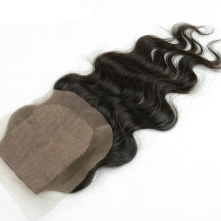 Brazilian Silk Base Closures J Part Virgin Hair 4x4 Natural Color (4)