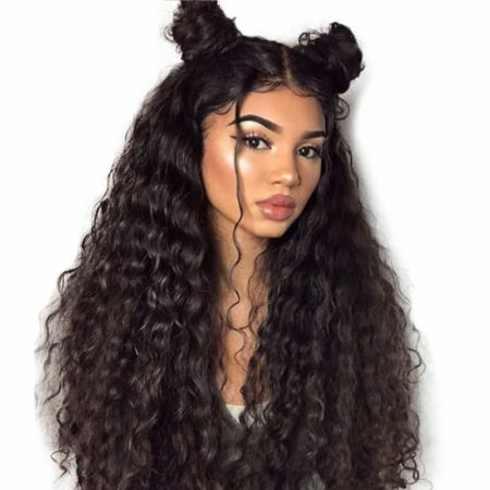 Brazilian Virgin Loose Wave Pre Plucked Full Lace 100% Human Hair Wigs (6)