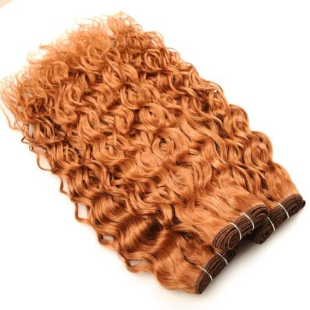 Brazilian Wet And Wavy Hair For Sale Colored #30 Weave Bundles 100% Human Hair (4)
