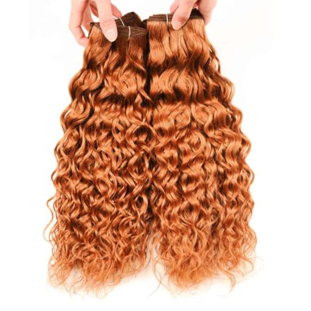 Brazilian Wet And Wavy Hair For Sale Colored #30 Weave Bundles 100% Human Hair (5)