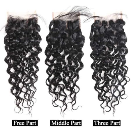 Brazilian Wet And Wavy Human Hair 4x4 Lace Closure (3)