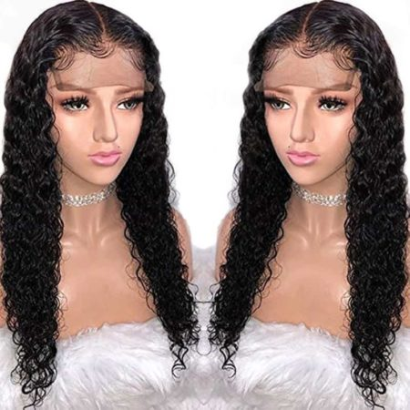 High Quality Brazilian Full Lace Wigs Curly Hair With Baby Hair (2)