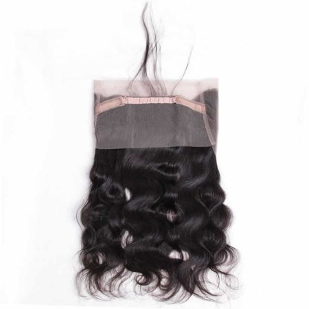 Indian Body Wave 360 Lace Frontal Closure Pre Plucked with Baby Hair (1)