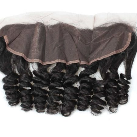 Indian Loose Wave Human Hair Ear To Ear Lace Frontal 13X4 With Baby Hair Free Part (5)