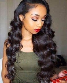 Loose wave side part