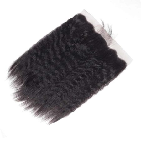 Malaysia Kinky Straight Lace Frontal Closure With Baby Hair (5)