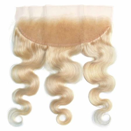 Malaysian 13x4 Lace Frontal Remy Human Hair Body Wave 613 Color Blonde (2)