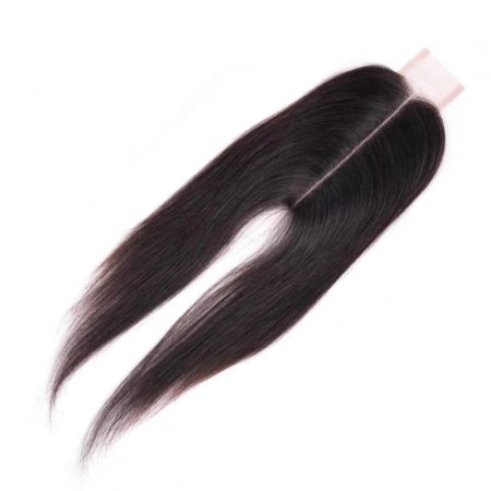 Malaysian Straight Human Hair Middle Part 2 x 6 Lace Closure 8-22 (2)