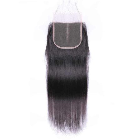 Middle Part Peruvian Straight 100% Remy Human Closure (4)