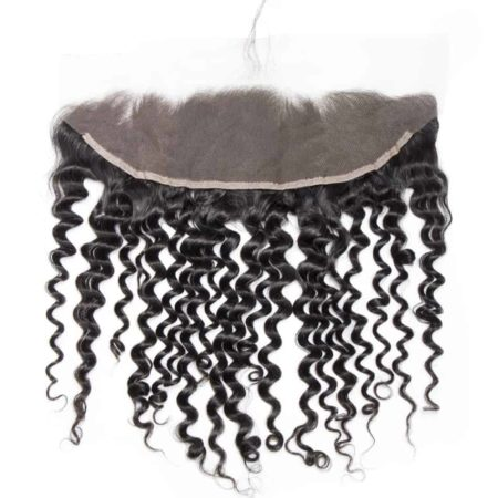 Peruvian 13X4 Deep Curly Ear to Ear Lace Frontal With Baby Hair (4)