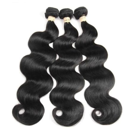 Peruvian Body Wave 360 Lace Frontal Pre Plucked With Baby Hair With 3 Bundles Human Hair (5)