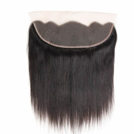 Peruvian Kinky Straight Lace Frontal Closure Pre Plucked With Baby Hair Natural Hairline (3)