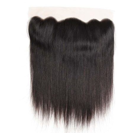 Peruvian Kinky Straight Lace Frontal Closure Pre Plucked With Baby Hair Natural Hairline (5)