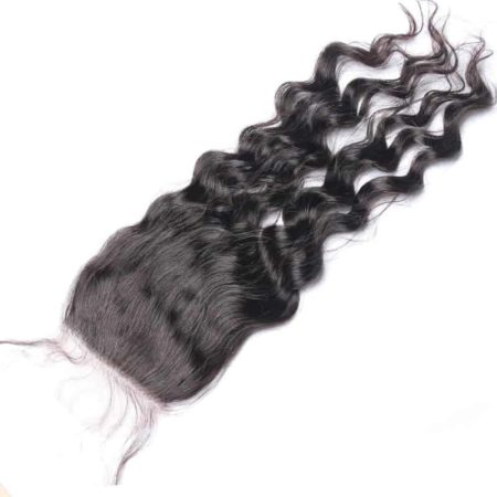 Peruvian Silk Base Closure Loose Wave 100% Human Hair With Baby Hair Hidden Knots (5)