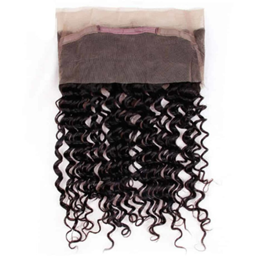 Brazilian Deep Wave 360 Frontal Remy Human Hair Closure With Baby Hair (1)