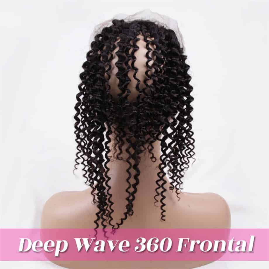 Brazilian Deep Wave 360 Frontal Remy Human Hair Closure With Baby Hair (6)