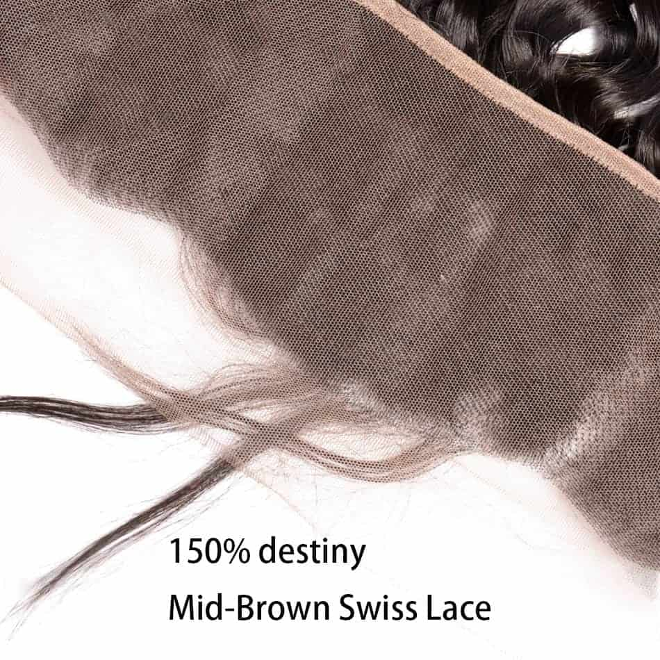 Brazilian Natural Wave Remy Human Hair 13X4 Lace Frontal Closure With Baby Hair (1)