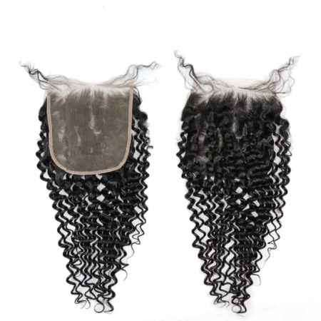 Brazilian Virgin Deep Wave 6x6 Lace Closure Unprocessed Hair (4)