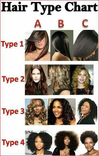 Detailed Description of The Hair Types