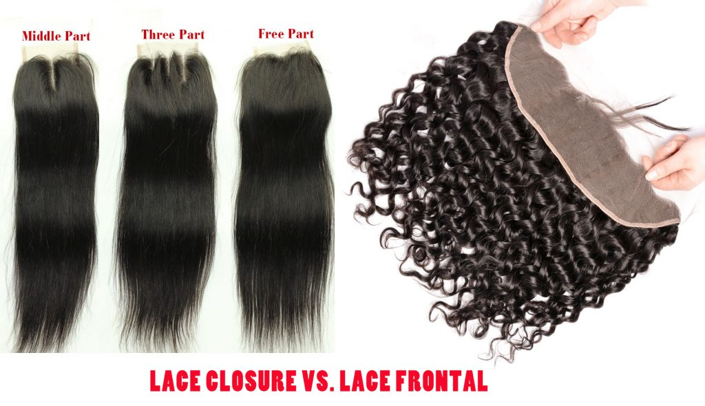 Lace Closure Vs. Lace Frontal